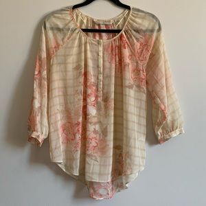Lauren Conrad Shear Blouse